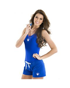 Front of Women's Lifeguard Short in Royal Blue
