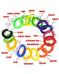 Wrist Coils in Various Colors (Names)