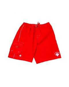 Lifeguard Red Lifeguard Board Short Front