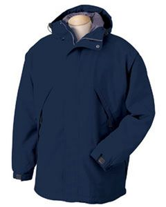 Front of the Lifeguard Sport Parka w / Hood in Navy