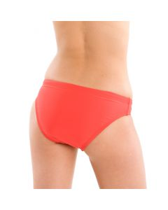 Back of the Low Profile 2-Piece Bottom in Lifeguard Red