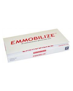 Box of EMMOBILIZE Vinyl Exam Gloves