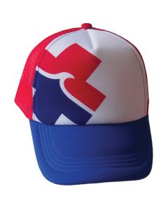 Front of the Red, White And Blue High Tide™ Trucker
