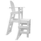 MLG 520 - Everondack® Medium Lifeguard Chair with Side Step in White